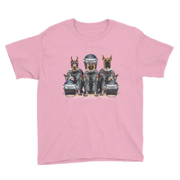 CANINE SPACEFORCE - YOUTH T-SHIRT - The Space Store
