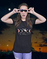 'TOTALITY' TOTAL SOLAR ECLIPSE SHIRT in WOMEN'S BELLA + CANVAS
