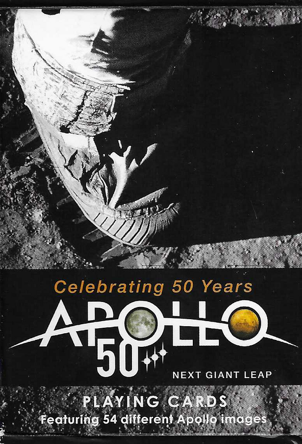 Apollo 50 years playing cards