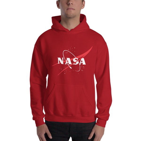 NASA 'VECTOR LOGO' HOODIE - The Space Store
