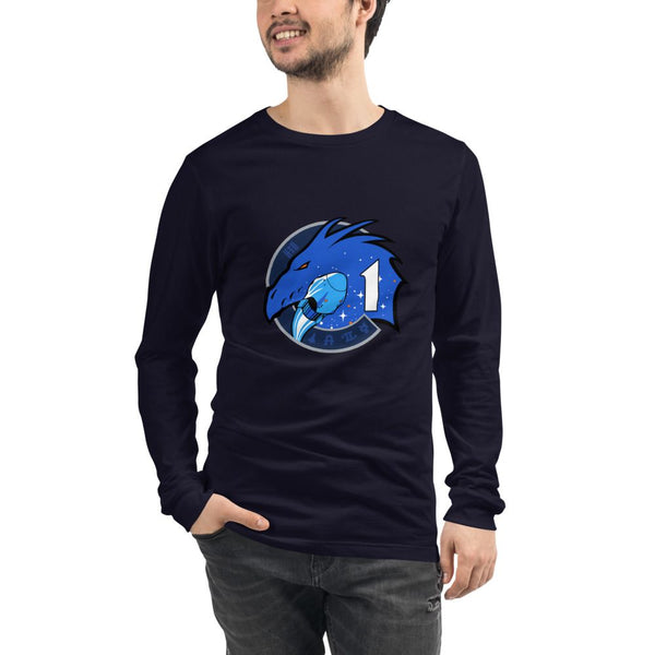 Crew-1 NASA Spacex Crew Dragon Longsleeve Shirt in adult sizing