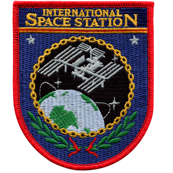 International Space Station Official Patch - The Space Store