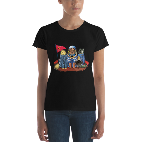 CATS 'FURST' ON MARS - Ladies Cut - A Spacestore Exclusive!
