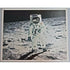 "NEIL ARMSTRONG SIGNED OVERSIZED 20X16 PRINT ""MAN ON THE MOON"" - The Space Store"