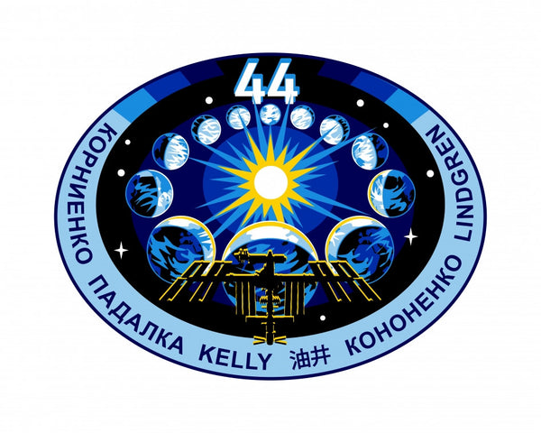 EXPEDITION MISSION 44 PATCH - The Space Store
