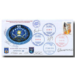 EXPEDITION 44 FLOWN COVER – EX- PADALKA