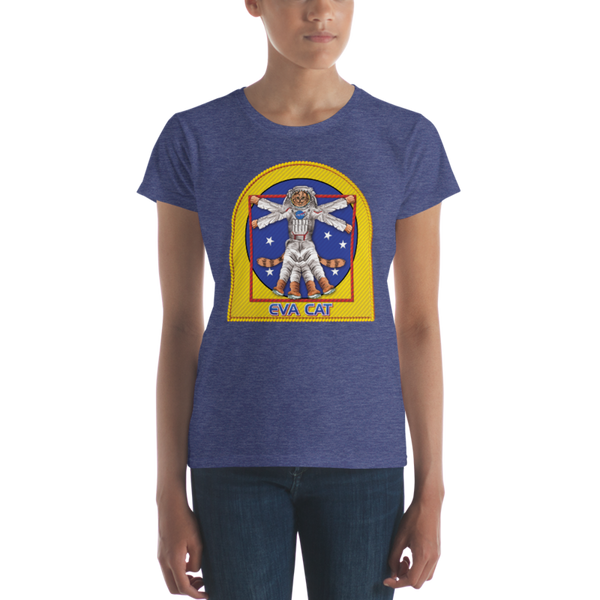 EVA CAT T-Shirt in Ladies Cut - The Space Store