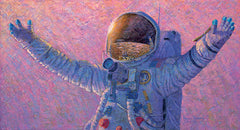 'HELLO UNIVERSE'  Limited Edition Print by Apollo 12 Astronaut Alan Bean