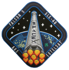 SPACEX EUTELSAT ABS / SLC-40 PATCH