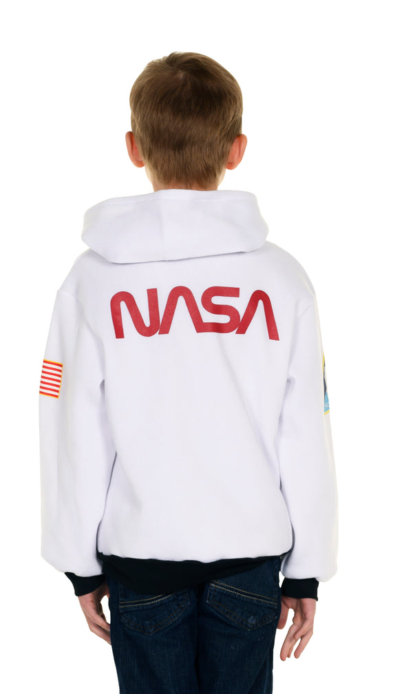 Astronaut Zip-Up Hoodie for Youth