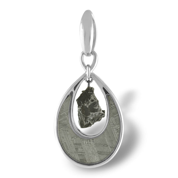 Muonionalusta Meteorite Pendant - The Space Store
