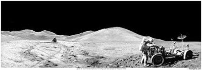 "Apollo 15 Panorama 23"" x 8"" - The Space Store"