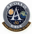 Apollo Lunar Exploration 50 Years Commemorative Patch - The Space Store