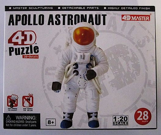 Apollo Astronaut 4D Puzzle - The Space Store