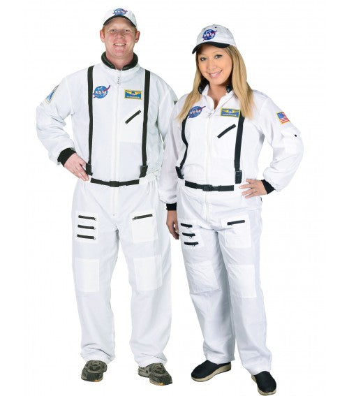 Astronaut Costume (White) - Adult - The Space Store