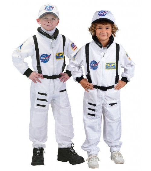 Jr. Astronaut Suit (White) - Child - The Space Store