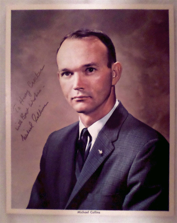 Michael Collins Autographed Photo