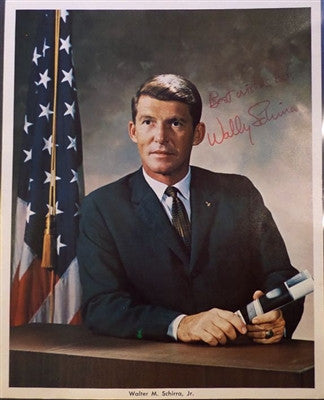 Walter Schirra Autographed Photo