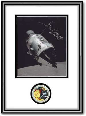"Autographed & Framed 8"" x 10"" Gene Cernan 'America II' - Photo - The Space Store"