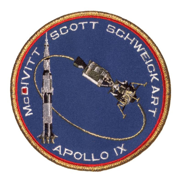 "Apollo 9 Commemorative 5"" Mission Patch - The Space Store"