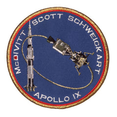 "Apollo 9 Commemorative 5"" Mission Patch"