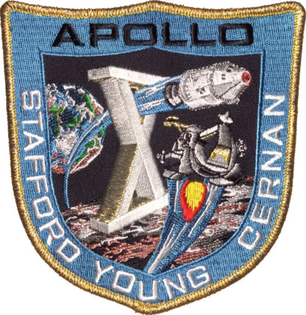 "Apollo 10 Commemorative 5"" Mission Patch - The Space Store"