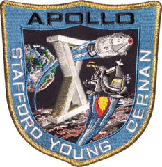 "Apollo 10 Commemorative 5"" Mission Patch"