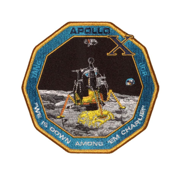 "Apollo 10 Commemorative 'Spirit' 5"" Patch"