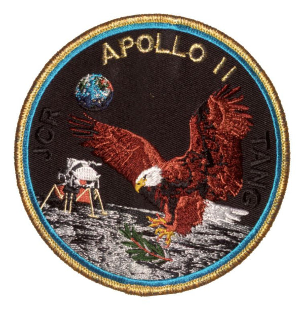 "Apollo 11 Commemorative 5"" Mission Patch - The Space Store"