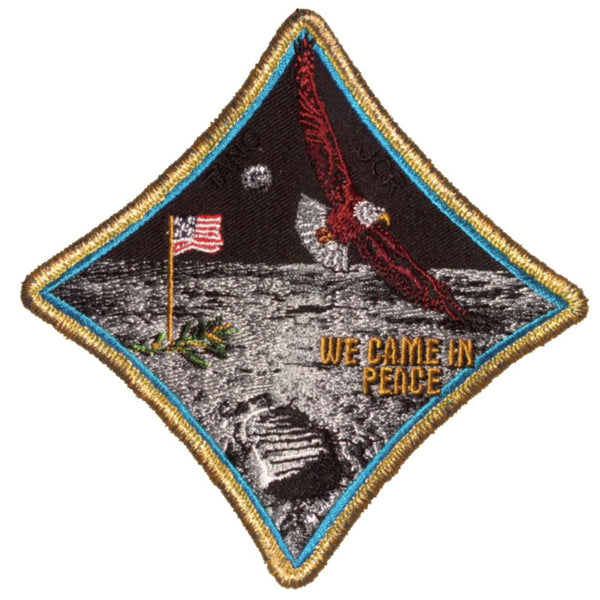 "Apollo 11 Commemorative Spirit 5"" Patch - The Space Store"