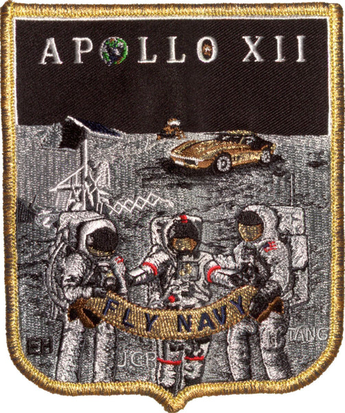 NEW! APOLLO COMMEMORATIVE 'SPIRIT' PATCH SET - 11 PATCHES