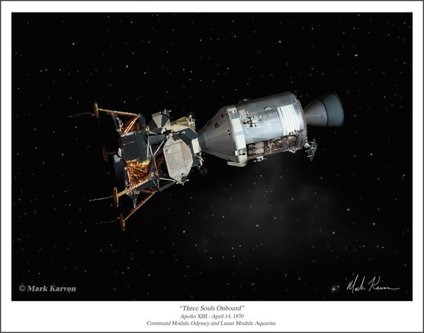 APOLLO XIII  11 x 14 or 16 x 24 - The Space Store