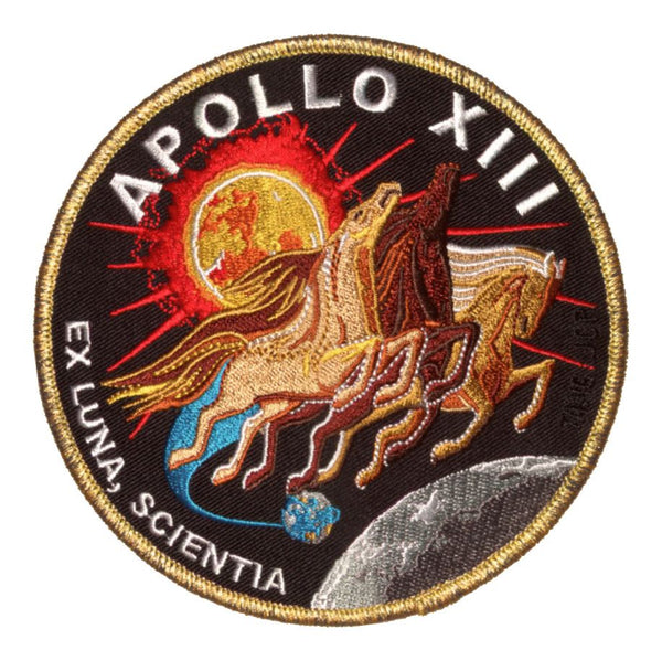 "NEW! APOLLO COMMEMORATIVE 5"" PATCH SET - INCLUDES 12 PATCHES"