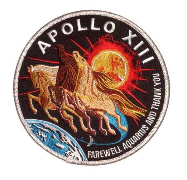 "Apollo 13 Commemorative Spirit 5"" Patch"