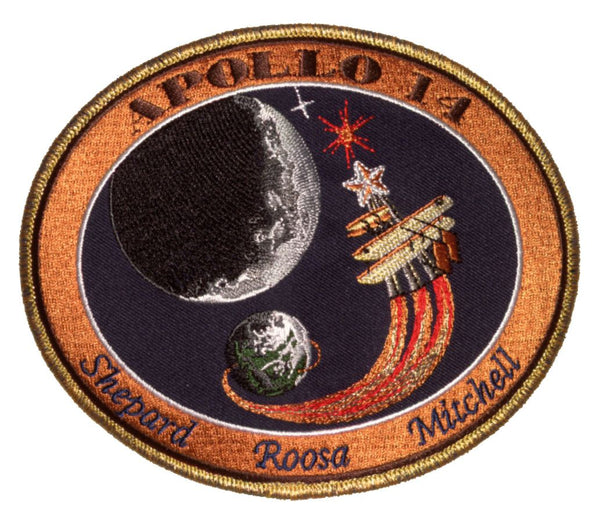 "Apollo 14 Commemorative 5"" Mission Patch - The Space Store"
