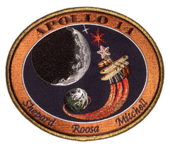 "Apollo 14 Commemorative 5"" Mission Patch"