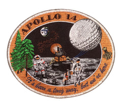 "Apollo 14 Commemorative Spirit 5"" Patch"