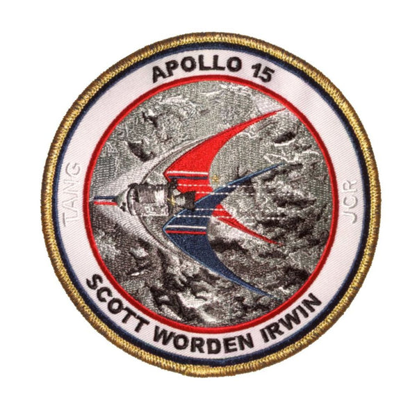 "Apollo 15 Commemorative 5"" Mission Patch - The Space Store"