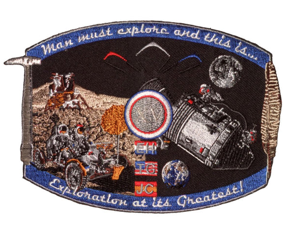 "Apollo 15 Commemorative Spirit 5"" Patch - The Space Store"