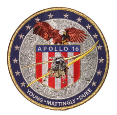 "Apollo 16 Commemorative 5"" Mission Patch"