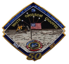 "Apollo 1 50th Commemorative 'Spirit' 5"" Patch"