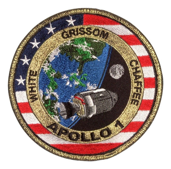 "APOLL0 1 COMMEMORATIVE 5"" MISSION PATCH - The Space Store"
