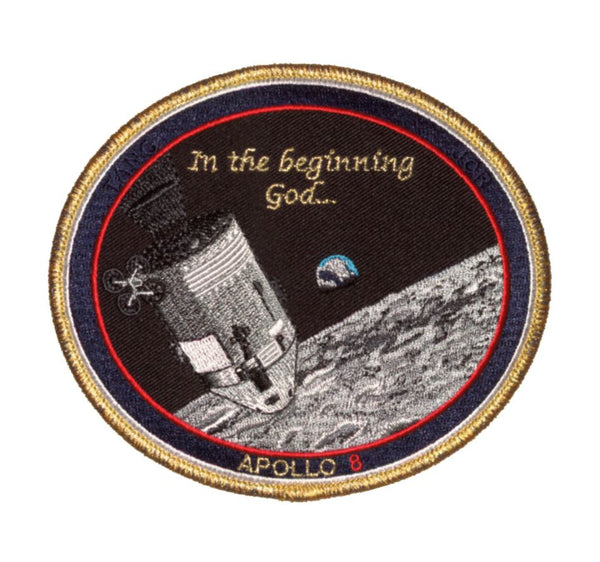 "Apollo 8 Commemorative 'Spirit' 5"" Patch - The Space Store"
