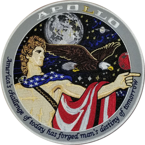 "Apollo Commemorative Spirit 8"" Back Patch - The Space Store"