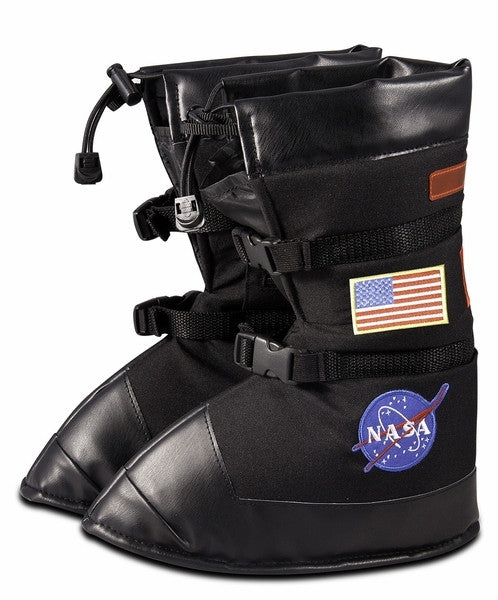 Junior Astronaut Space Boots in Black