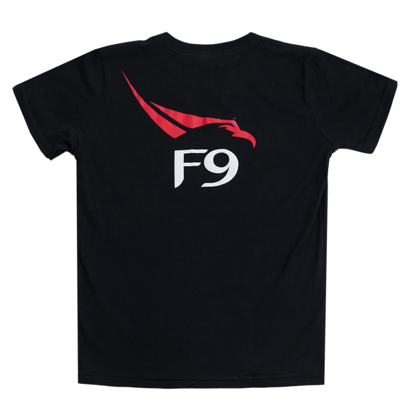 SpaceX Falcon 9 T-Shirt (Black) - Youth