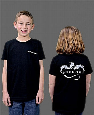 Dragon T-Shirt in Youth Sizing (Silver)