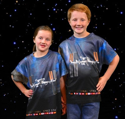 International Space Station Shirt - Youth sizing - The Space Store