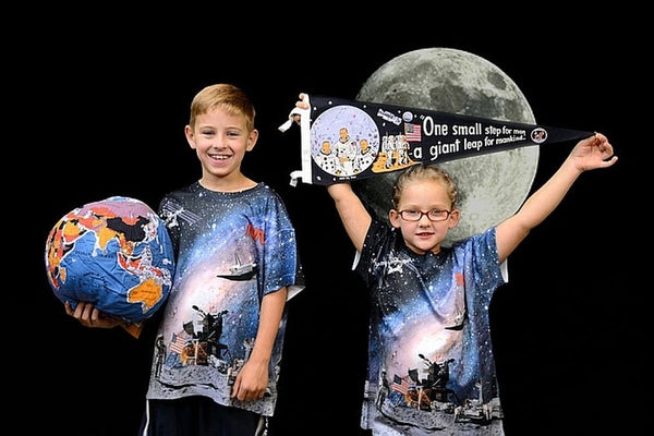 "NASA ""Space Programs Shirt"" in Full Color (2 sided design) - Youth"