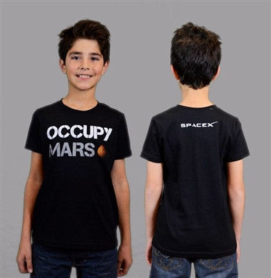 'Occupy Mars' T-Shirt - Youth